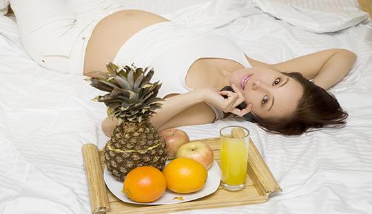 孕妇头三个月饮食很重要